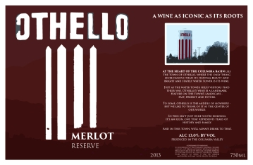Wine Label_Reserve Wine