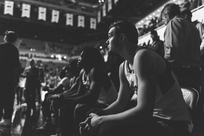 Oklahoma State Cowboys vs Kansas Jayhawks Men's Basketball Game, Saturday, March 2, 2019, Gallagher-Iba Arena, Stillwater, OK. Courtney Bay/OSU Athletics