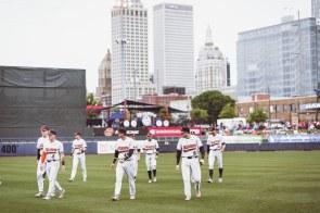 Oklahoma State Cowboys vs Oklahoma Sooners Baseball Game, Friday, May 10, 2019, OneOK Field, Tulsa, OK. Courtney Bay/OSU Athletics