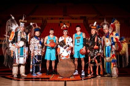 Image Taken At Gallagher-Iba Arena, Oklahoma State University, Stillwater, OK. Courtney Bay/OSU Athletics