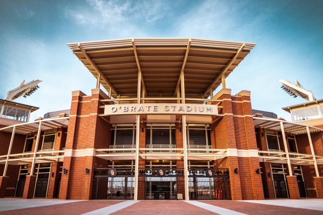 Image Taken at O'Brate Stadium, Oklahoma State University, Friday, April 17, 2020, Stillwater, OK. Courtney Bay/OSU Athletics